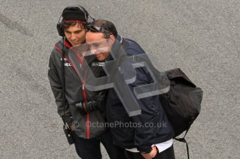 World © Octane Photographic 2011. Formula 1 testing Friday 11th March 2011 Circuit de Catalunya. Suber - Sergio Perez. Digital ref : 0022LW7D3386