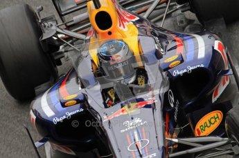 World © Octane Photographic 2011. Formula 1 testing Friday 11th March 2011 Circuit de Catalunya. Red Bull RB7 - Sebastian Vettel. Digital ref : 0022LW7D3551