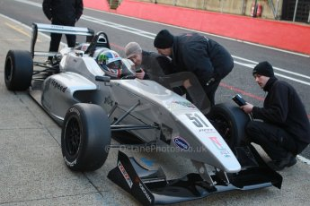 World © Octane Photographic Ltd. Brands Hatch, Qualifying, Saturday 23rd November 2013. BRDC Formula 4 Winter Series, MSV F4-13,  – Kieran Vernon - Hillspeed. Digital Ref : 0863cb1d3180