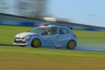 World © Octane Photographic Ltd. Donington Park general test day 31st January 2013. Renault Clio Cup. Digital Ref : 0570cb1d7436