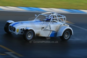 World © Octane Photographic Ltd. Donington Park general test day 31st January 2013. McMillan Motorsport Caterham 7, Terry Langley. Digital Ref : 0570cb1d7488