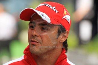 World © Octane Photographic Ltd. F1 Spanish GP Thursday 9th May 2013. Paddock and pitlane. Scuderia Ferrai - Felipe Massa. Digital Ref : 0654cb7d8707