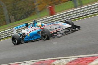 World © Octane Photographic Ltd. Brands Hatch, Race 3, Sunday 24th November 2013. BRDC Formula 4 Winter Series, MSV F4-13, Sennan Fielding – HHC Motorsport. Digital Ref : 0867cb1d7424