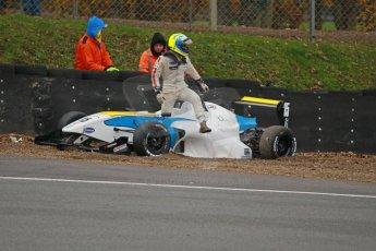 World © Octane Photographic Ltd. Brands Hatch, Race 3, Sunday 24th November 2013. BRDC Formula 4 Winter Series, MSV F4-13, Matteo Ferrer - MGR. Digital Ref : 0867cb1d7486