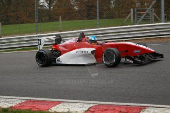 World © Octane Photographic Ltd. Brands Hatch, Race 3, Sunday 24th November 2013. BRDC Formula 4 Winter Series, MSV F4-13,  – Dimitris Papanastasiou - Hillspeed. Digital Ref : 0867cb1d7643