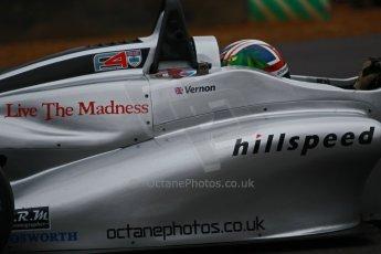 World © Octane Photographic Ltd. Brands Hatch, Race 3, Sunday 24th November 2013. BRDC Formula 4 Winter Series, MSV F4-13, – Kieran Vernon - Hillspeed. Digital Ref : 0867cb1d7676