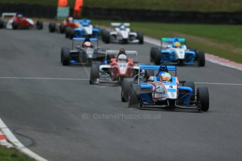 World © Octane Photographic Ltd. Brands Hatch, Race 4, Sunday 24th November 2013. BRDC Formula 4 Winter Series, MSV F4-13, Sennan Fielding – HHC Motorsport. Digital Ref : 0868lw1d7730