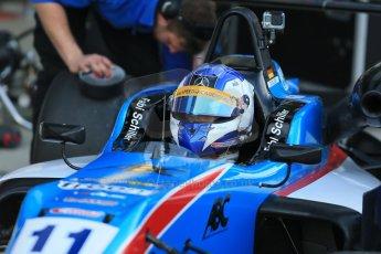 World © Octane Photographic Ltd. FIA European F3 Championship, Silverstone Free Practice 1, UK, Friday 10th April 2015. Team West-Tec F3 – Fabian Schiller, Dallara F312 – Mercedes-Benz. Digital Ref : 1217LB1D5048