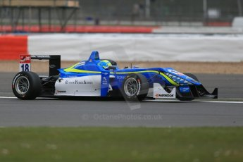 World © Octane Photographic Ltd. FIA European F3 Championship, Silverstone Qualifying 1, UK, Friday 10th April 2015. Double R Racing – Nicolas Pohler, Dallara F312 – Mercedes-Benz. Digital Ref : 1220LB1D6276