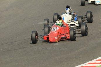 World © Octane Photographic Ltd. British Formula Ford – Brands Hatch, September 2nd 2011. Jamun Racing - Nick McBride and JTR - Geoff Uhrhane. Digital Ref : 0875cb1d1527