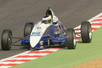 World © Octane Photographic Ltd. British Formula Ford – Brands Hatch, September 2nd 2011. Fluid Motorsport - Matt Rao. Digital Ref : 0875cb1d1566
