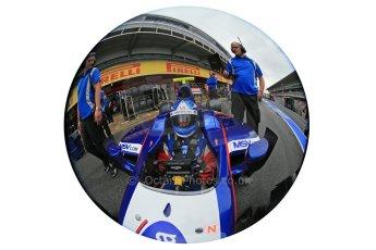 World © Octane Photographic Ltd. GP2 Spanish GP, Circuit de Catalunya, Friday 10th May 2013. Practice. Jolyon Palmer - Carlin. Digital Ref : 0660cb1d9393