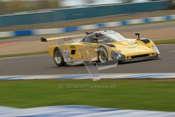 © Octane Photographic Ltd. 2012 Donington Historic Festival. Group C sportscars, qualifying. Spice SE88 - Trevor Knight. Digital Ref : 0320cb7d0271