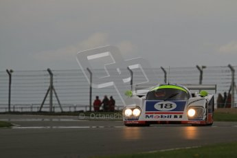 © Octane Photographic Ltd. 2012 Donington Historic Festival. Group C sportscars, qualifying. Aston Martin AMR1 - Andy Meyrick. Digital Ref : 0320lw7d9590