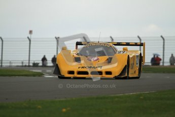 © Octane Photographic Ltd. 2012 Donington Historic Festival. Group C sportscars, qualifying. Nissan R90 CK - Steve Tandy. Digital Ref : 0320lw7d9687
