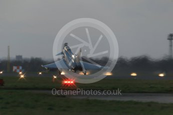 World © Octane Photographic Ltd. RAF Coningsby, 9th December 2015. Eurofighter Typhoon. Digital Ref :