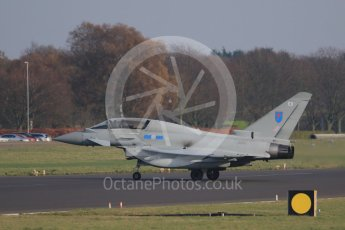 World © Octane Photographic Ltd. November 23rd 2015. RAF Coningsby. Eurofighter Typhoon. Digital Ref :