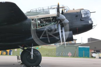 "World © Octane Photographic Ltd. October 6th 2015. RAF Coningsby. Battle of Britain Memorial Flight (BBMF) Lancaster Mk.III ""Thumper"" PA474. Digital Ref :  1454CB1D6472"