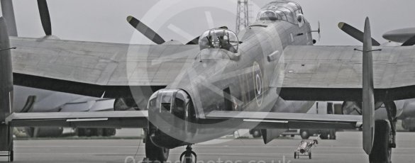 "World © Octane Photographic Ltd. October 6th 2015. RAF Coningsby. Battle of Britain Memorial Flight (BBMF) Lancaster Mk.III ""Thumper"" PA474. Digital Ref :  1454CB1D6493"