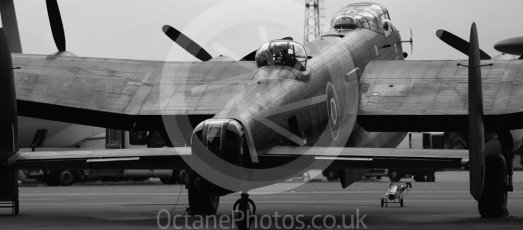 "World © Octane Photographic Ltd. October 6th 2015. RAF Coningsby. Battle of Britain Memorial Flight (BBMF) Lancaster Mk.III ""Thumper"" PA474. Digital Ref :  1454CB1D6496"