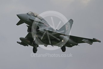 """World © Octane Photographic Ltd. October 6th 2015. RAF Coningsby. RAF Coningsby. Eurofighter Typhoon T.3 ZK379 """"BB"""", 29Sqn. Digital Ref : 1454CB1D6880"""