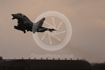 "World © Octane Photographic Ltd. October 6th 2015. RAF Coningsby. Eurofighter Typhoon T.3 ZK318 ""EX"", 6Sqn. Digital Ref : 1454CB1D6906"