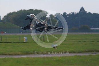 "World © Octane Photographic Ltd. October 6th 2015. RAF Coningsby. Eurofighter Typhoon FGR.4 ZK349 ""GN-A"", 29Sqn, Battle of Britain commemorative scheme. Digital Ref : 1454CB1D6962"