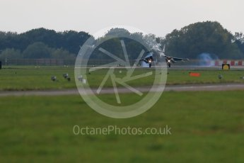 "World © Octane Photographic Ltd. October 6th 2015. RAF Coningsby. Eurofighter Typhoon FGR.4 ZK320 ""BR"", 29Sqn. Digital Ref : 1454CB1D6993"