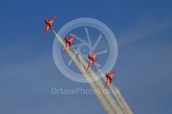 World © Octane Photographic Ltd. 9th December 2015 RAF Scampton – Red Arrows display team practice. Digital Ref : 1493CB1D1885