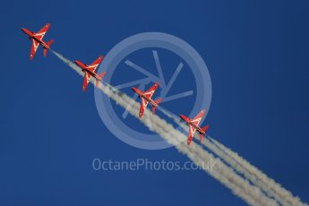 World © Octane Photographic Ltd. 9th December 2015 RAF Scampton – Red Arrows display team practice. Digital Ref : 1493CB1D1899