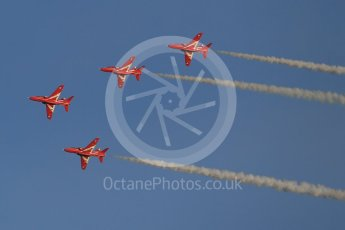 World © Octane Photographic Ltd. 9th December 2015 RAF Scampton – Red Arrows display team practice. Digital Ref : 1493CB1D1974