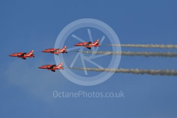 World © Octane Photographic Ltd. 9th December 2015 RAF Scampton – Red Arrows display team practice. Digital Ref : 1493CB1D1981