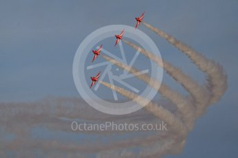 World © Octane Photographic Ltd. 9th December 2015 RAF Scampton – Red Arrows display team practice. Digital Ref : 1493CB1D2098
