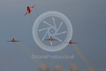 World © Octane Photographic Ltd. 9th December 2015 RAF Scampton – Red Arrows display team practice. Digital Ref : 1493CB1D2131