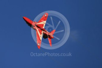 World © Octane Photographic Ltd. 9th December 2015 RAF Scampton – Red Arrows display team practice. Digital Ref : 1493CB1D2154
