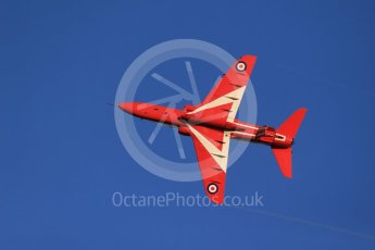 World © Octane Photographic Ltd. 9th December 2015 RAF Scampton – Red Arrows display team practice. Digital Ref : 1493CB1D2168