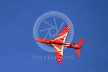 World © Octane Photographic Ltd. 9th December 2015 RAF Scampton – Red Arrows display team practice. Digital Ref : 1493CB1D2170