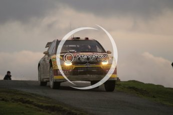 © North One Sport Limited 2010/ Octane Photographic Ltd. 2010 WRC Great Britain, Saturday 13th November 2010. Digital ref : 0118cb1d2130