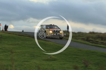 © North One Sport Limited 2010/ Octane Photographic Ltd. 2010 WRC Great Britain, Saturday 13th November 2010. Digital ref : 0118lw1d4228