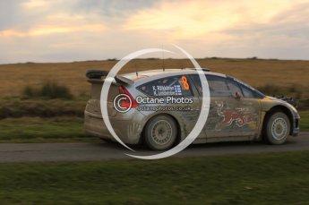 © North One Sport Limited 2010/ Octane Photographic Ltd. 2010 WRC Great Britain, Saturday 13th November 2010, Kimi Raikkonen/Kaj Lindstrom, Citroen C4 WRC. Digital ref : 0118lw1d4309