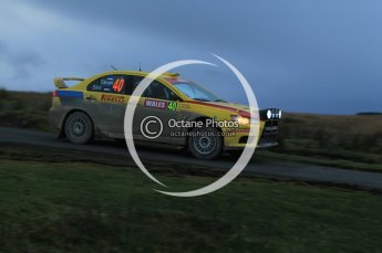 © North One Sport Limited 2010/ Octane Photographic Ltd. 2010 WRC Great Britain, Saturday 13th November 2010. Digital ref : 0118lw1d4414