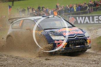 © North One Sport Limited 2010/ Octane Photographic Ltd. 2010 WRC Great Britain, Sunday 14th November 2010, Kimi Raikkonen/Kaj Lindstrom, Citroen C4 WRC. Digital ref : 0120cb1d0165