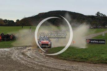 © North One Sport Limited 2010/ Octane Photographic Ltd. 2010 WRC Great Britain, Sunday 14th November 2010. Digital ref : 0120lw1d0076