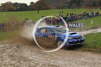 © North One Sport Limited 2010/ Octane Photographic Ltd. 2010 WRC Great Britain, Sunday 14th November 2010. Digital ref : 0120lw1d0321