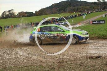 © North One Sport Limited 2010/ Octane Photographic Ltd. 2010 WRC Great Britain, Sunday 14th November 2010. Digital ref : 0120lw1d0382