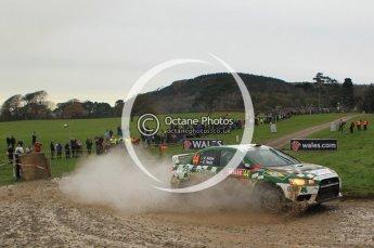 © North One Sport Limited 2010/ Octane Photographic Ltd. 2010 WRC Great Britain, Sunday 14th November 2010. Digital ref : 0120lw1d0557