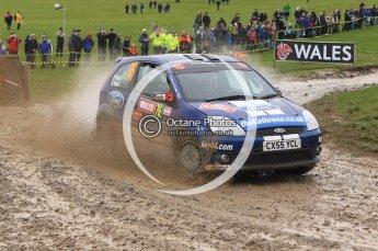 © North One Sport Limited 2010/ Octane Photographic Ltd. 2010 WRC Great Britain, Sunday 14th November 2010. Digital ref : 0120lw1d0612