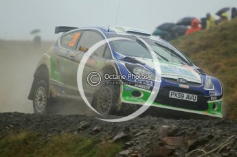 © North One Sport Limited 2010/ Octane Photographic Ltd. 2010 WRC Great Britain, Friday 12th November 2010. Digital ref : 0117cb1d1391