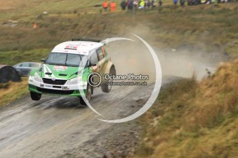 © North One Sport Limited 2010/ Octane Photographic Ltd. 2010 WRC Great Britain, Friday 12th November 2010. Digital ref : 0117lw1d3299