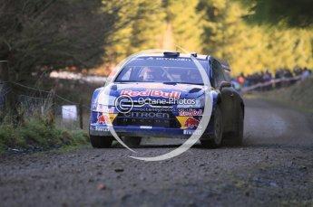 © North One Sport Limited 2010/ Octane Photographic Ltd. 2010 WRC Great Britain, Saturday 13th November 2010, Kimi Raikkonen/Kaj Lindstrom, Citroen C4 WRC. Digital ref : 0119cb1d1610